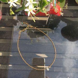Beaded dainty chocker necklace.